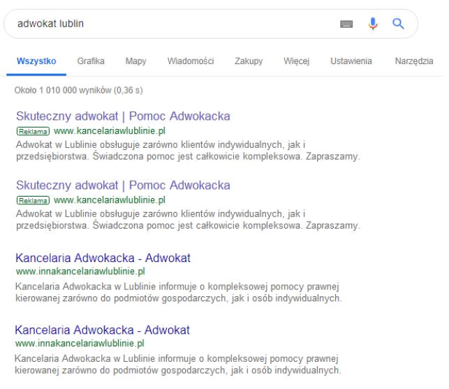 Różnica między pozycjonowaniem a Google Ads