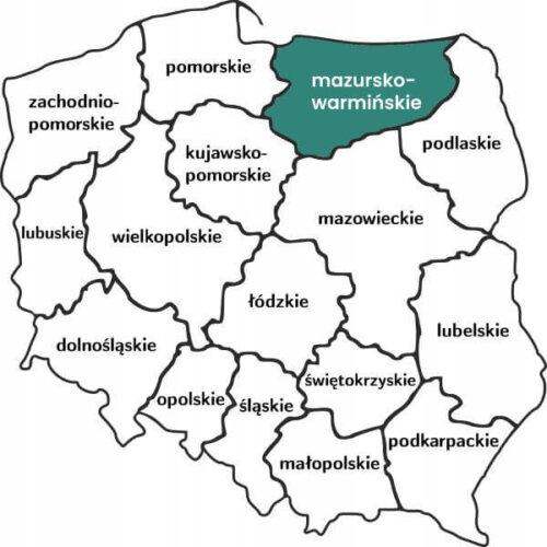 Mapawarminskomazurskie