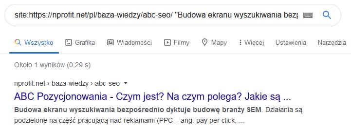 Wyszukiwanie w Google