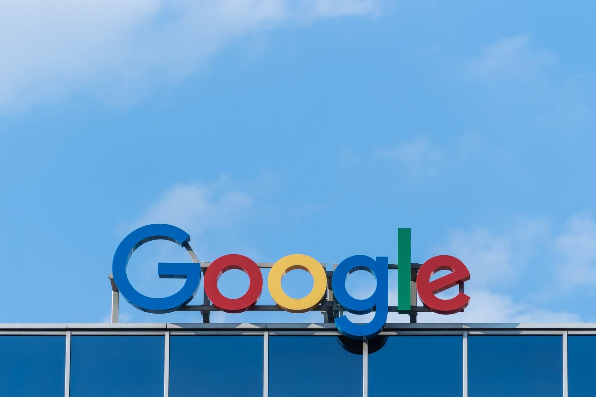 aktualizacje google